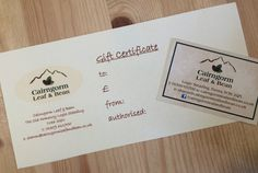 Treat the #tea, #coffee or #hotchocolate lover in your life to a personalised gift voucher; vouchers, which can be made out to any value, are available from our wee shop at Logie Steading or via post; email sharon@cairngormleafandbean.co.uk