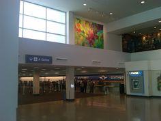 Painting at Tucson Airport