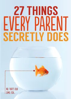 27 Things Every Parent Secretly Does; this is the funniest thing ever and mainly because it's so true! Probly 4 or 5 i haven't done yet, keyword YET! Parenting Quotes, Parenting Advice, Kids And Parenting, Funny Kids, The Funny, Parents, Baby Kids, 4 Kids, Children