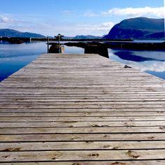 Pier at Sandsøy