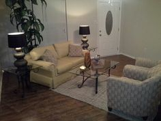 Yet another view of living room.