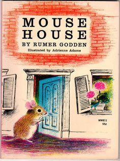Mouse House Vintage 1960s Childrens Softcover by VintageBarrel, $12.00