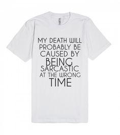SARCASTIC DEATH