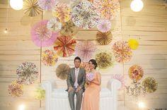 creative pelamin - bride and groom
