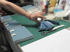 making headbands and rounding the spine