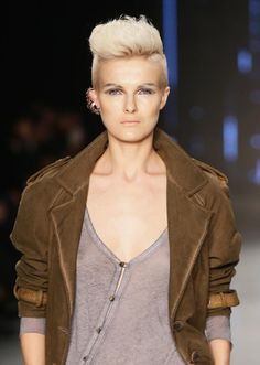 The Best Short Haircuts by Face Shape: The Pompadour: Avoid This Cut if You Have a Long Face