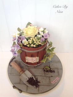 Birthday plater cake  - Cake by CakesbyNinaCalverley