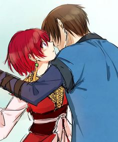 Akatsuki no Yona / Yona of the Dawn manga and anime || Hak and Yona Hayona <3 OTP SHIP ANIME COUPLES SO CUTE