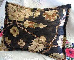 Pair Custom Made Decorative Boudoir Pillow Shams by Gold Pillows, Linen Pillows, Ralph Lauren Fabric, Ebay Shopping, Ralph Lauren Collection, How To Make Pillows, Designer Pillow, Throw Cushions, Vintage Cotton