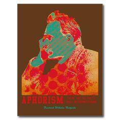 Apholism -Friedrich Nietzsche- Post Cards