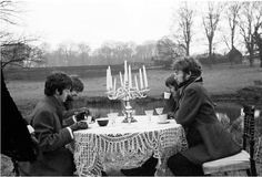 Beatles ... on a picnic?