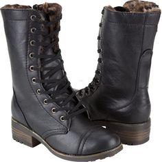 DOLLHOUSE Combat Womens Boots
