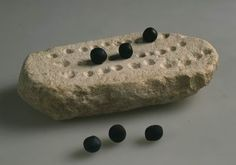 Game board Arad Early Bronze Age, 3000–2650 BCE Stone L: 15; W: 7.5 cm Israel Antiquities Authority