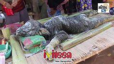 Sinh vật lạ nửa trâu, nửa cá sấu làm người dân Thái hoang mang - http://www.iviteen.com/sinh-vat-la-nua-trau-nua-ca-sau-lam-nguoi-dan-thai-hoang-mang/  Hiện tại sinh vật lạ nửa trâu, nửa cá sấu này đang được những người dân ở huyện Wanghin, Thái Lan đặt lên bàn để thờ cúng.    Sự xuất hiện của một sinh vật lạ vừa giống trâu, vừa giống cá sấu đã khiến những người dân hiếu kỳ