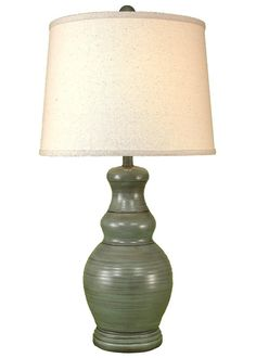 """Casual Living 28.5"""" Table Lamp Nightstand Lamp, Room Lights, Table Lamp, Bulb, Shades, Lighting, Grey, Color, Home Decor"""
