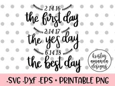First Day Yes Day Best Day Customizable Wedding Dates Sign SVG DXF EPS PNG Cut File • Cricut • Silhouette free svg wedding printable editable customize wedding table decor wedding calligraphy modern calligraphy Mr. Right Mrs. Always Right Wedding SVG DXF EPS PNG Cut File • Cricut • Silhouette free svg mr and mrs sign mr and mrs wall decor master bedroom decor love wedding sign couples pillow diy Engaged Bride Wedding Bundle SVG DXF EPS PNG Cut File • Cricut • Silhouette free svg last fling…
