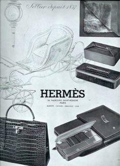 Vintage stylish travel accessories by Hermes Vintage Purses, Vintage Bags, Vintage Handbags, Vintage Travel, Vintage Outfits, Hermes Vintage, Hermes Bolide, Hermes Birkin, Embossed Fabric