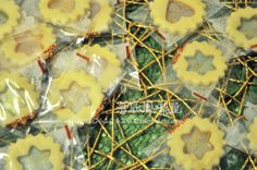 Glass candy biscuits——Christmas cookies