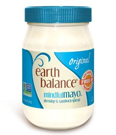 Original MindfulMayo  - So let us get this straight: You love using mayo on your sandwiches, as a dressing and in a bunch of your favorite recipes, but the stuff mayo's made of doesn't agree with you? Problem solved. Dollop, mix and smear your way to spread-happy euphoria with our light, tangy, 100% plant-based MindfulMayo® Dressing and Sandwich Spread. #EarthBalance #Vegan