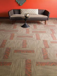 View the commercial carpet style Ecot Script Modular from Patcraft. View the carpet in a room scene, order samples, see specifications, and more. Wall Carpet, Carpet Stairs, New Carpet, Carpet Tiles, Commercial Carpet, Commercial Flooring, Stair Posts, Home Depot Carpet, Modular Shelving