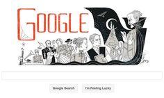 """Abraham """"Bram"""" Stoker 165 years from birth, Google"""