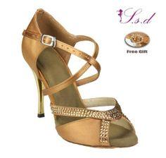 7 Colors Available Rhinestones Women's Salsa Latin Ballroom Dance Shoes 751 | eBay