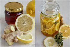...konyhán innen - kerten túl...: Gyömbéres-citromos méz kakukkfűvel