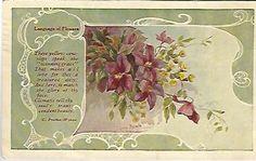 These yellow cowslips speak the Winning by postcardsintheattic, $4.99  New Listing: #postcard #ephemera #antique #vintage #vintagepaper #etsy #antiquepaper #collectible #antiquepostcard #vintagepostcard #Flower #Floral #Cottage #CottageChic