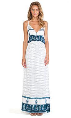 Faithfull The Brand Lullaby Maxi Dress ~ www.modandretro.com