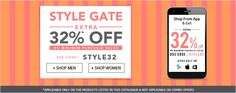 Clothing, Footwears & Accessories minimum 50% off + 32% off @Jabong