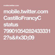 mobile.twitter.com CastilloFrancyC status 799010542824333312?s=09