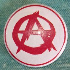 #Button #Badge #Anarchist