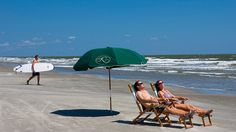 This 10,000-acre barrier island has 10 miles of pristine beaches to explore and 30 miles of marshland. Just 21 miles outside of downtown Charleston, Kiawah Beach offers a chance to escape the hustle and bustle of the city and enjoy the sunshine among wildlife like turtles, white deer and seabirds that inhabit the area.