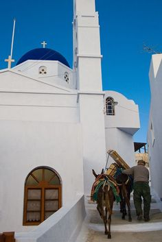 Greece Travel Inspiration - going home, Fira, Santorini, Greece