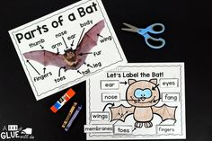 Engage your class in an exciting hands-on experience learning all about bats! This Bats: An Animal Study is perfect for science in Preschool, Pre-K, Kindergarten, First Grade, and Second Grade classrooms and packed full of