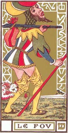 O Louco - Le Fou no Tarot de Oswald Wirth
