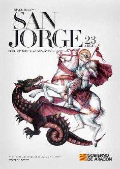San Jorge, día de Aragón que coincide con el día del Libro. Múltiples actividades, conciertos...