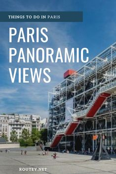 A guide to Paris, France. Experience Breathtaking Panoramic Views of Paris, find the best Places to see superb extensive views of the city. Great for Travel photography and Instagram in Paris.   #Paris #Travel #TravelTips #France #TravelGuide #TravelTips #Instagram #TravelInstagram