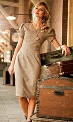 Shabby Apple vintage-inspired casual and day dresses and other stylish clothes for women. Modest Dresses, Modest Outfits, Cute Dresses, Modest Clothing, Casual Dresses, Sheath Dresses, Sleeve Dresses, Retro Fashion, Vintage Fashion