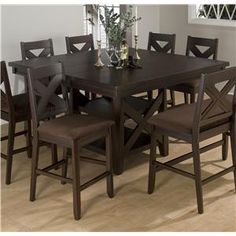 Coaster Hyde Counter Height Square Dining Table With Storage Base Best Counter Height Dining Room Inspiration