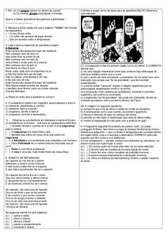 ATIVIDADES DIVERSAS CLÁUDIA: Avaliação  Língua Portuguesa EM