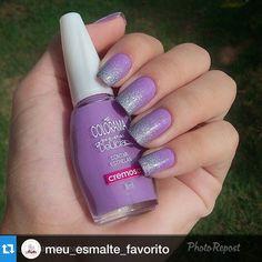 """""""#Repost @meu_esmalte_favorito with @repostapp.・・・Unhas lindas By @_thaisaunhaseafins Coleção Pequenas Delícias da @esmaltecolorama, """"Contar Estrelas"""" e degrade com o Lua da @finaflorcosmeticos via @PhotoRepost_app"""" Photo taken by @alexandravicunaperry on Instagram, pinned via the InstaPin iOS App! http://www.instapinapp.com (03/01/2015)"""