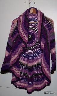 viola e avvolgente...crochet