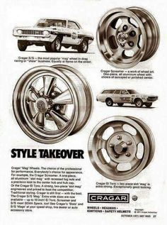 Diagnosed with Nostalgia Vintage Advertisements, Vintage Ads, Bicicletas Raleigh, Car Advertising, Wheels And Tires, Drag Cars, Old Ads, American Muscle Cars, Custom Cars