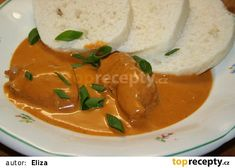 Chicken on red pepper Czech Recipes, Ethnic Recipes, Easy Cooking, Cooking Recipes, Chicken Recepies, Turkey Chicken, What To Cook, Food Lists, Main Meals