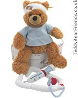 Steiff Dr Bear  Steiff`s Dr Bear medicine case will help a sick patient get better soon. Little Fynn Bear wears a st  http://www.comparestoreprices.co.uk/baby-gifts-and-toys/steiff-dr-bear.asp