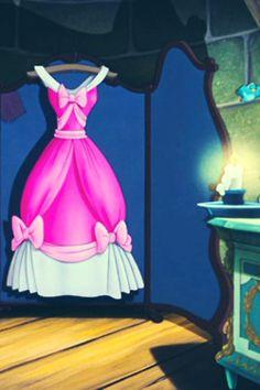 Cinderella, pink dress