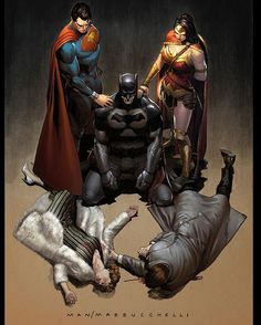 Trinity #3 out next week.. finally the real cover is online. #trinity #superman #batman #wonderwoman @dccomics #dcrebirth - Clay Mann