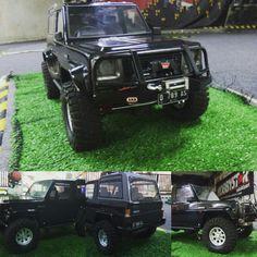 Custom rc adventure daihatsu rocky body . Basic kit scx Daihatsu, Prado, Jeeps, Offroad, Toyota, Monster Trucks, Places To Visit, 1, Adventure