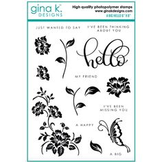 3.2 by 6.5 Inches Circle Flower Decoration Clear Rubber Stamps for Scrapbooking Card Making Christmas Rubber Stamps